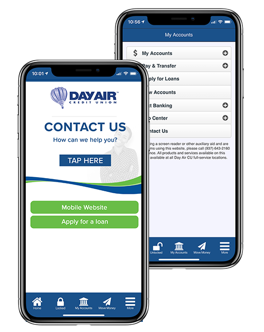 Link to mobile banking page