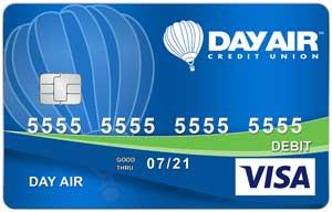 Day Air Credit Union Debit Card