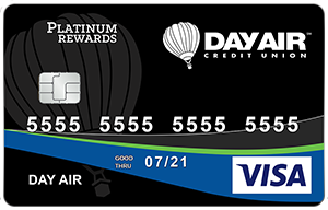 Day Air Credit Union Rewards Credit Card