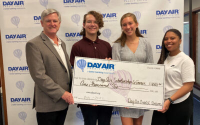 Day Air Credit Union Awards Three $1,000 Scholarships to Area Students