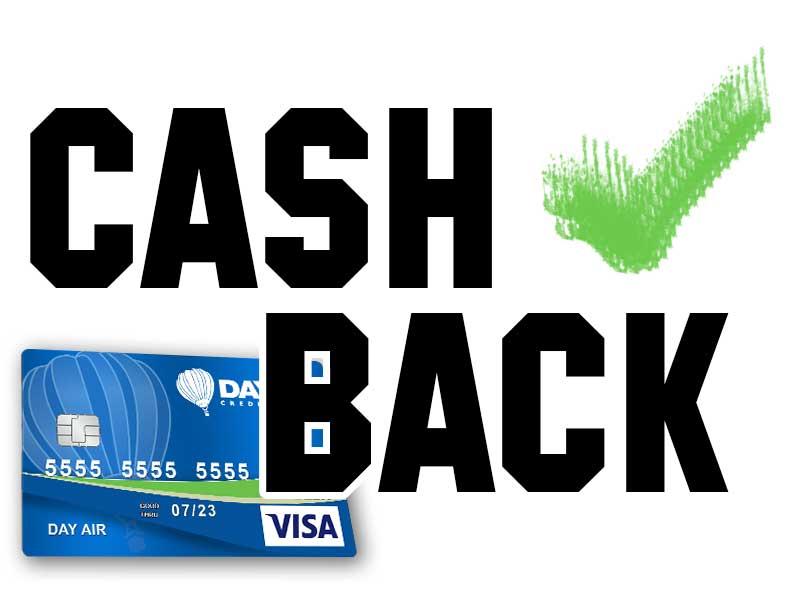 Cash back text image