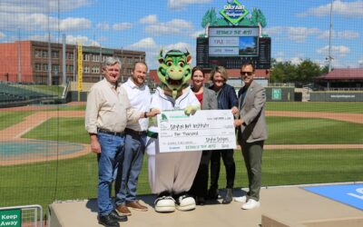 Day Air Credit Union Donates $5,000 to the Dayton Art Institute in Partnership with Dayton Dragons