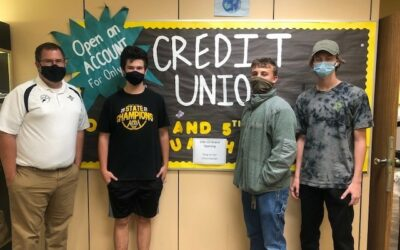 Centerville High School Credit Union Celebrates Re-Opening in Partnership with Day Air